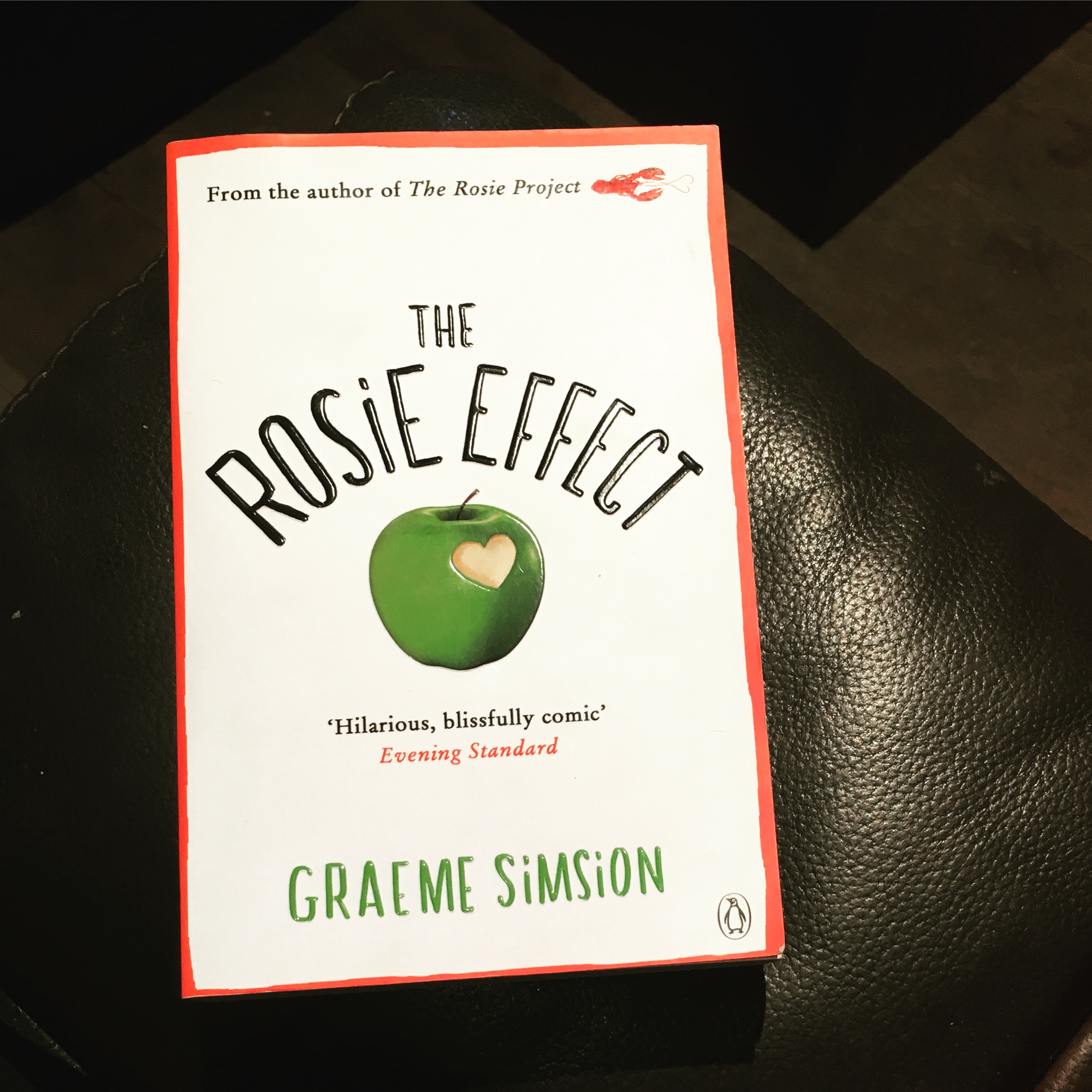 The Rosie Effect, Book 16, 2016 Reading Challenge