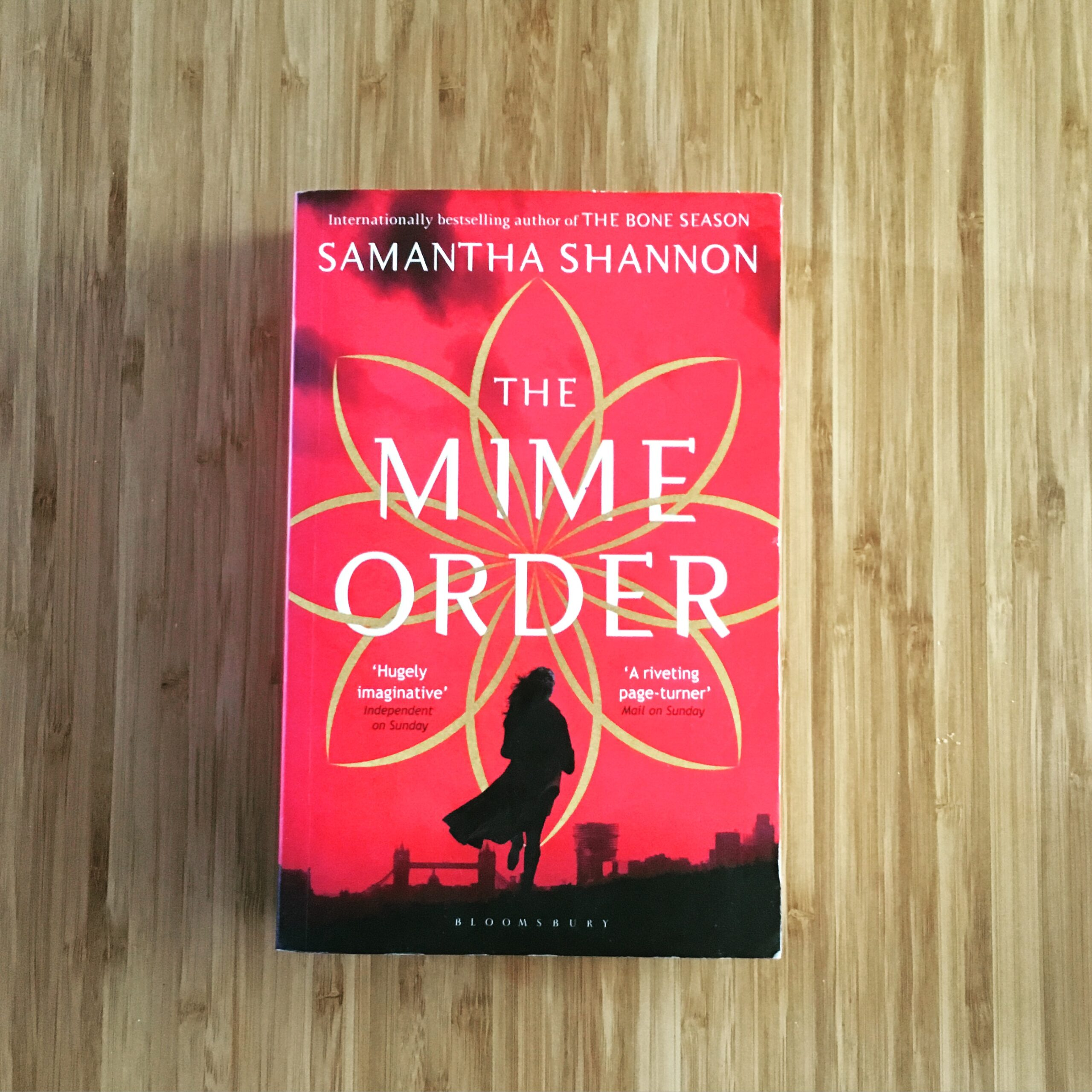 2016 Reading Challenge, Book 21, The Mime Order