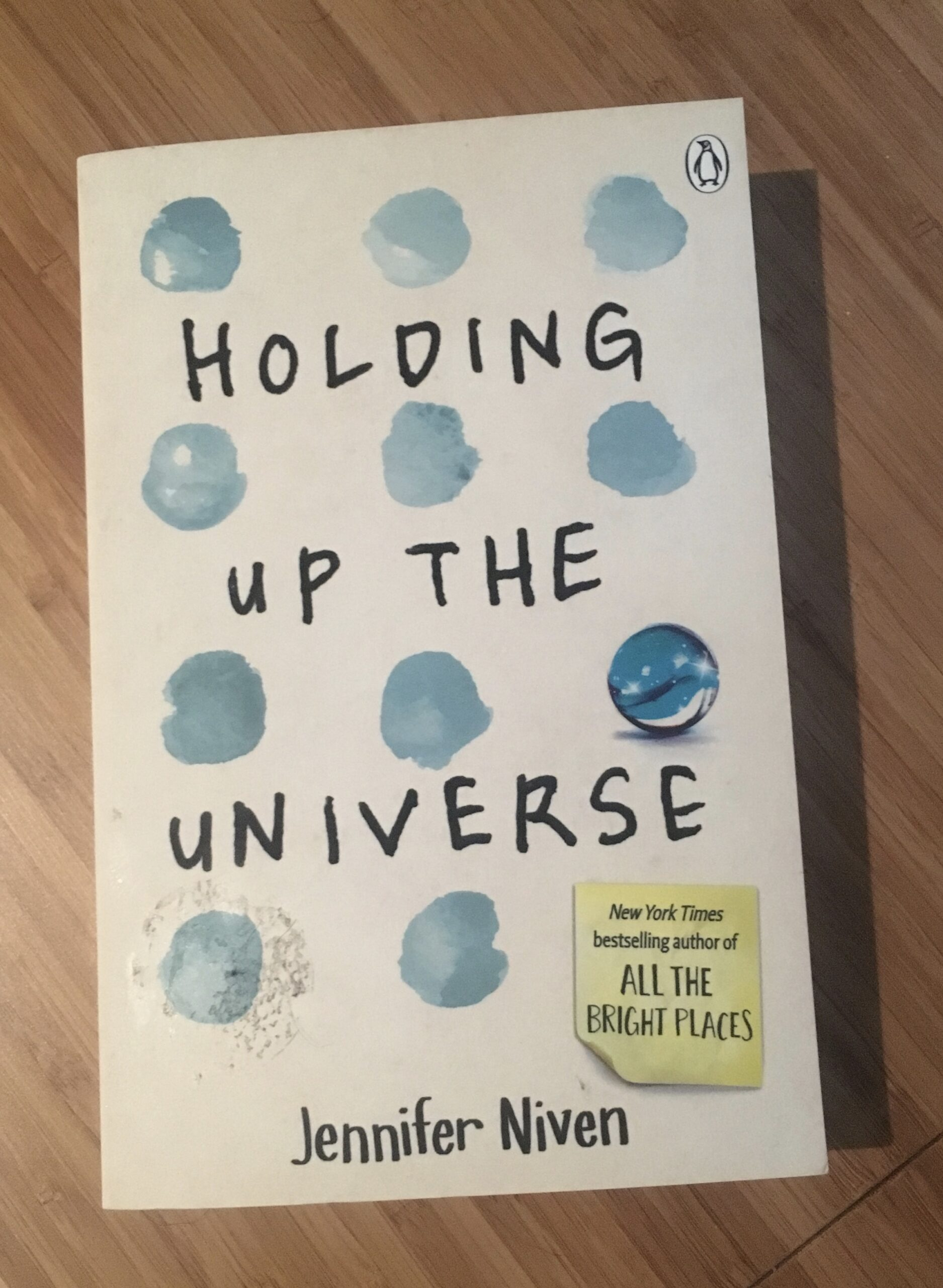 2017 Reading Challenge, Book 12, Holding Up the Universe