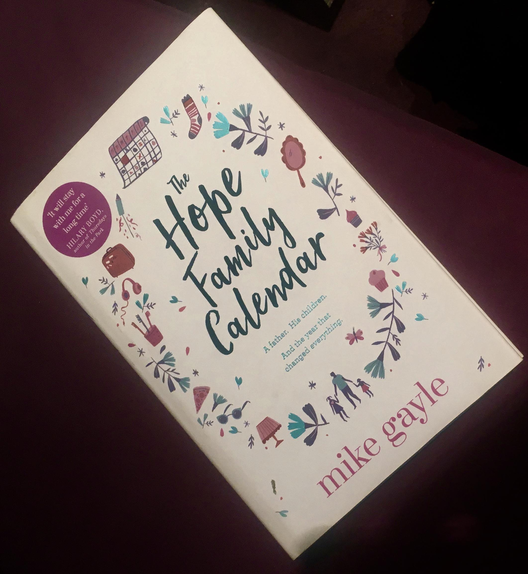 2017 Reading Challenge, Book 32, The Hope Family Calendar