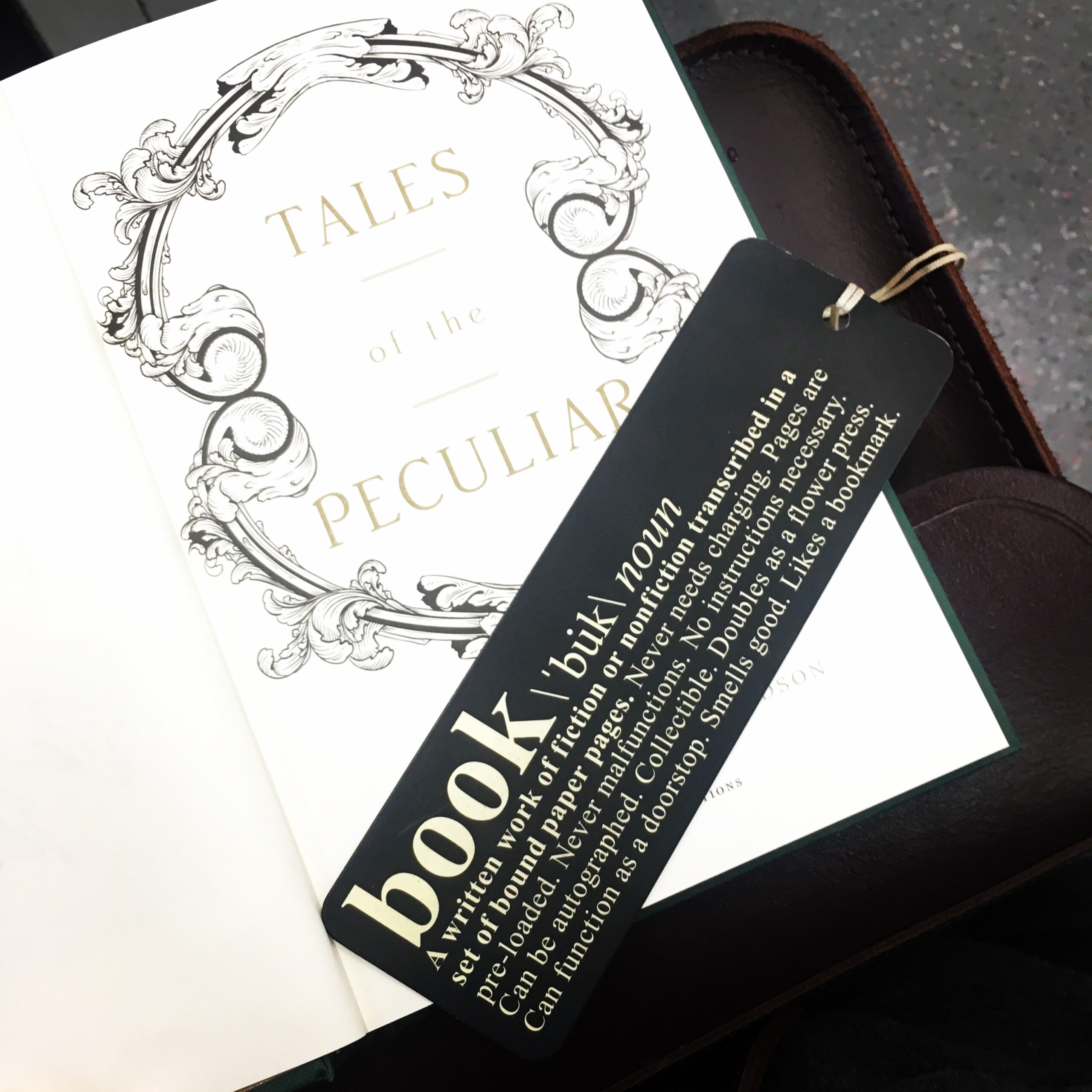 2017 Reading Challenge, Book 39, Tales of the Peculiar