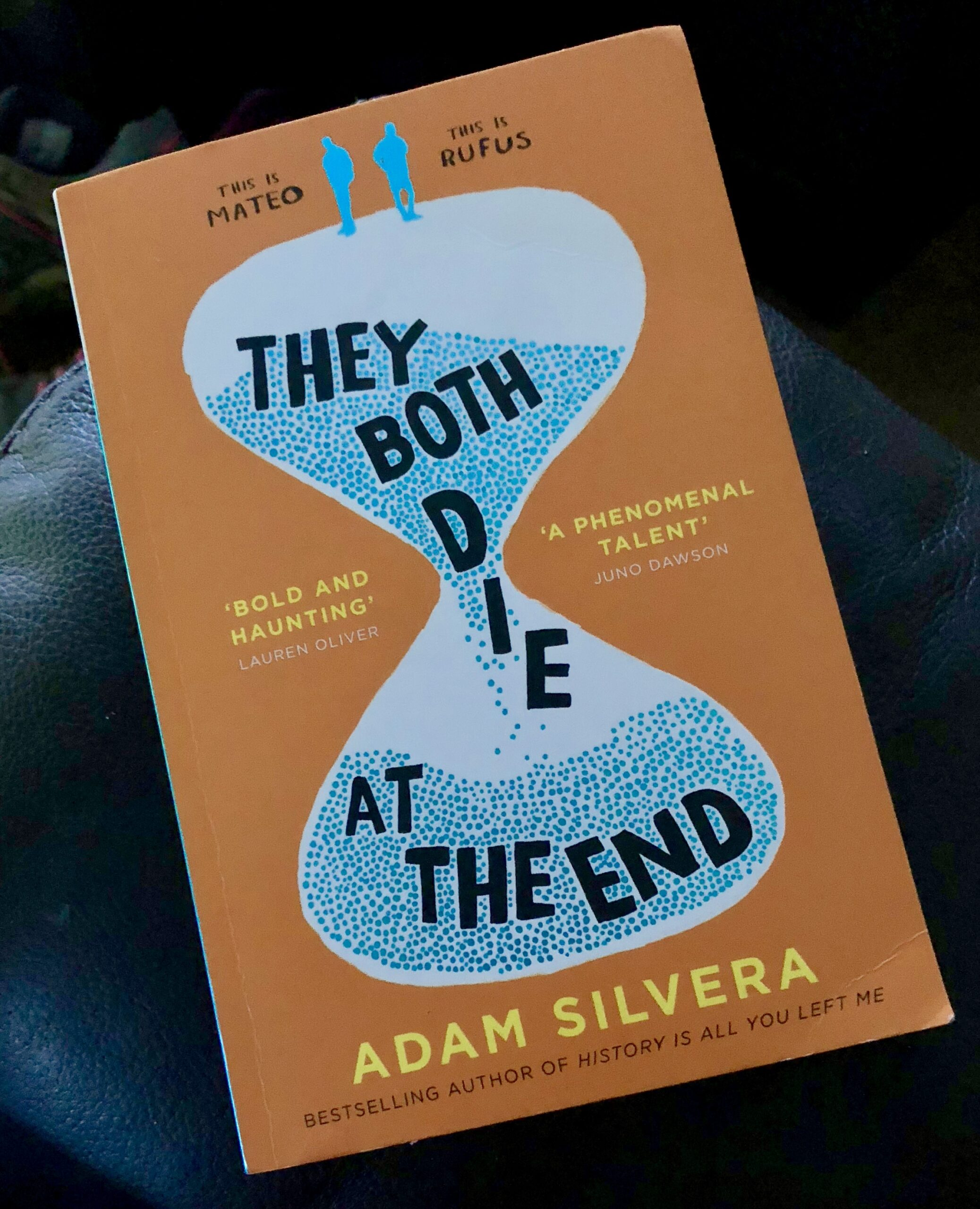 2018 Reading Challenge, Book 2, They Both Die at the End